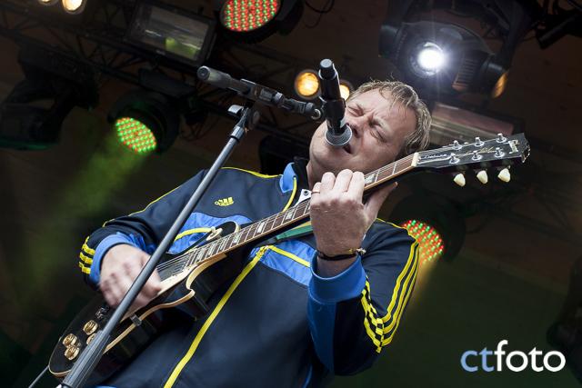 Kalle Baah på Ängen-scenen på Emmabodafestivalen 2015