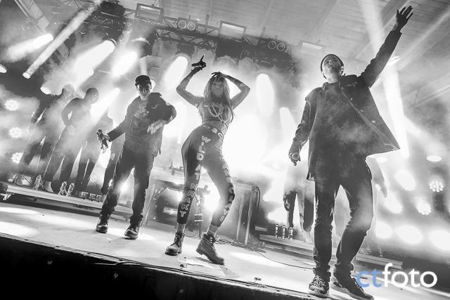 Maskinen och Joy på Ängen-scenen, Emmbodafestivalen 2015