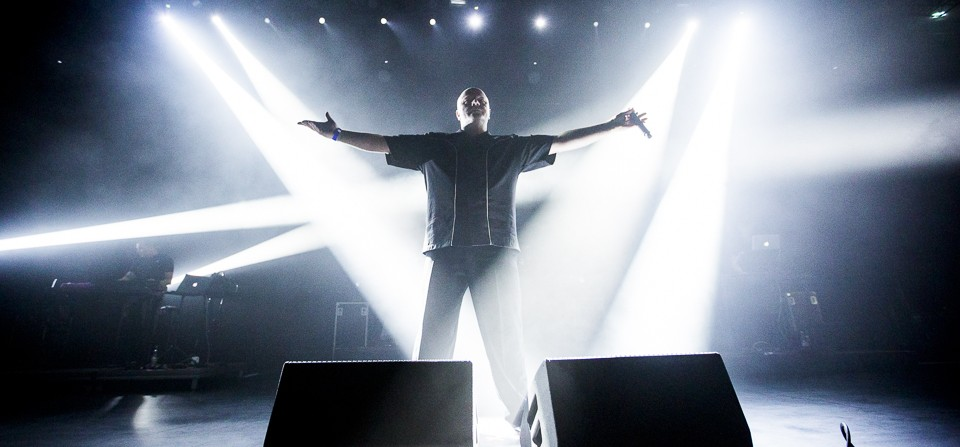 VNV Nation på Partille Arena