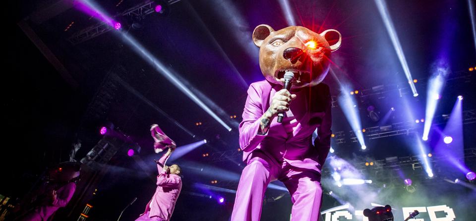 Teddybears på Gröna Lund